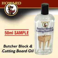 BUTCHER BLOCK & CUTTING BOARD OIL SAMPLE SIZE