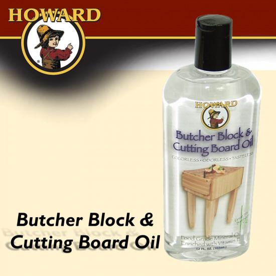 HOWARD BUTCHER BLOCK & CUTTING BOARD OIL 355 ML