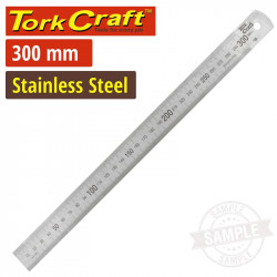 STAINLESS STEEL 300X25X1.0MM RULER